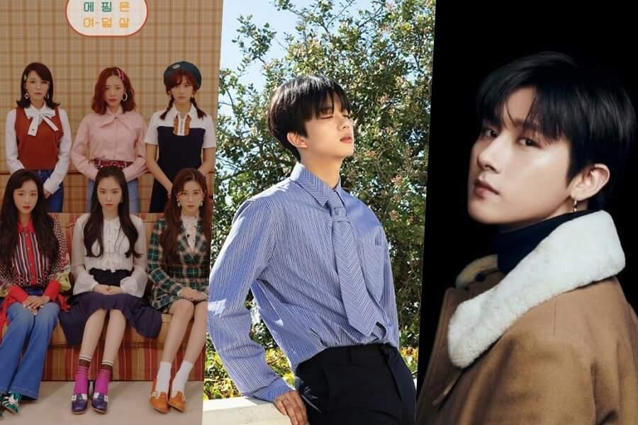 apink-youngjae-grupos que regressam em abril 2019