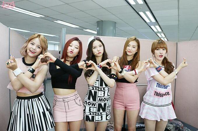 melhores debuts de grupos femininos kpop clc pepe