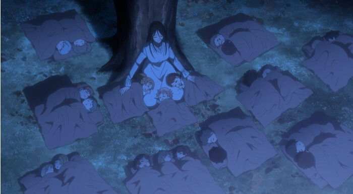 yakusoku no neverland episodio 12 mae e as criancas fuga