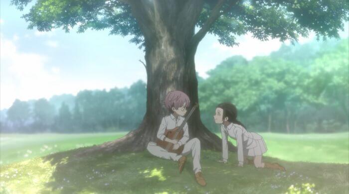 yakusoku no neverland mae e leslie