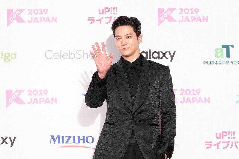 Ídolos de Kpop brilham na Red Carpet da KCON 2019 Japan ator joo won