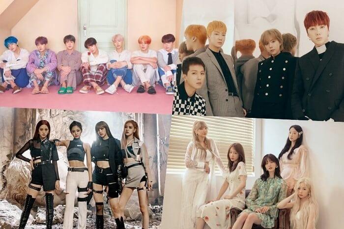 BTS, WINNER, BLACKPINK, EXID, Taeyeon e mais conseguem Posições Altas na Tabela de Álbuns do Mundo da Billboard