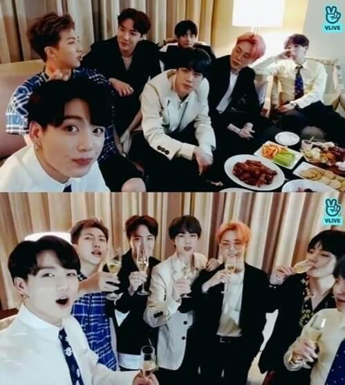 BTS partilham Pensamentos sobre 2019 Billboard Music Awards