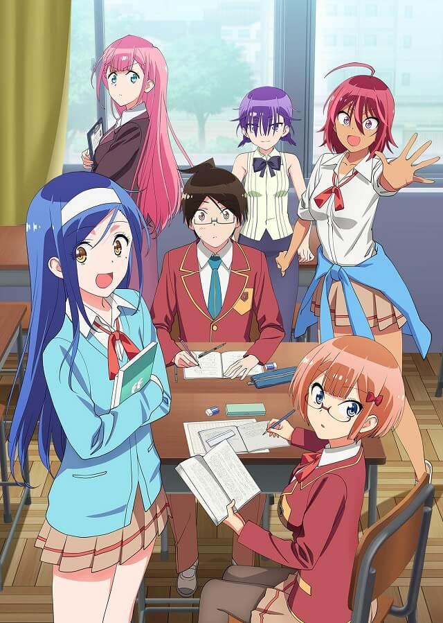 Bokutachi wa Benkyou ga Dekinai lança Anime com Volume 14