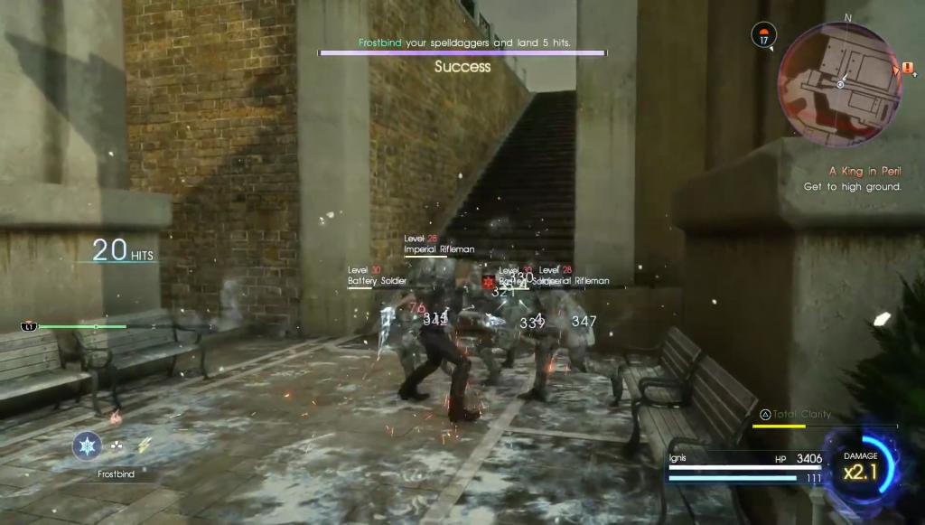 Final Fantasy XV DLC – Episode Ignis Análise - jogabilidade