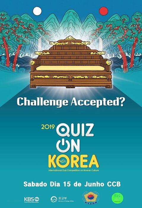 Quiz on Korea 2019 - Torna-te no Representante de Portugal