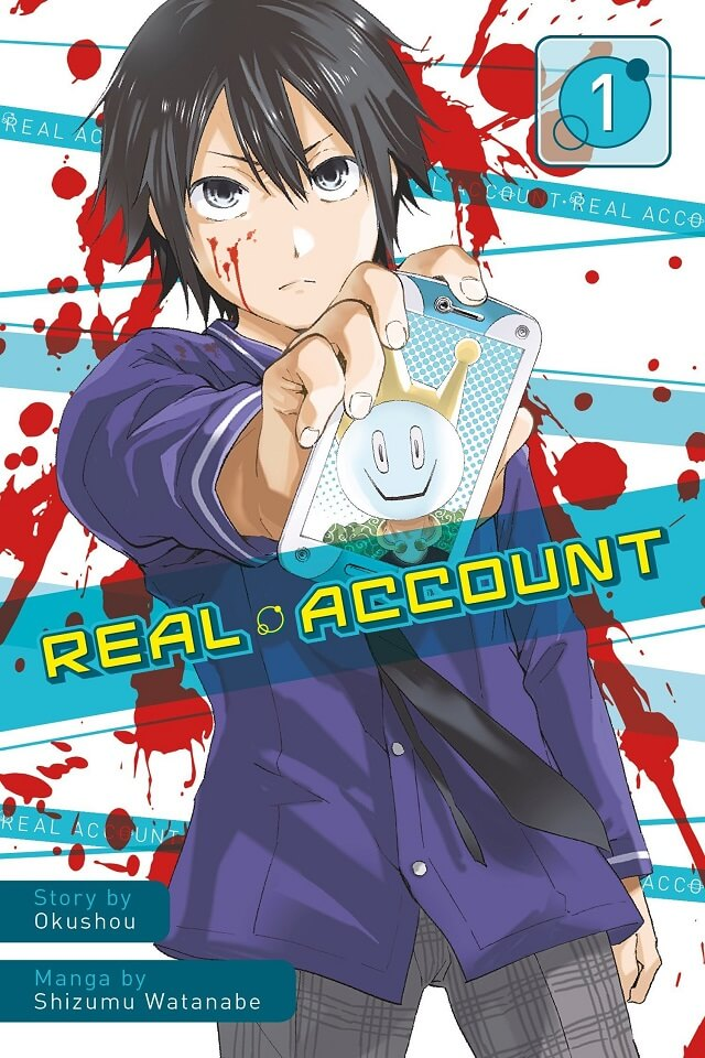 Real Account - Manga entra no Arc Final