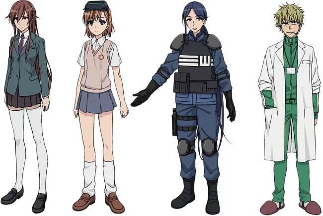 Toaru Kagaku no Accelerator - Anime revela Estreia