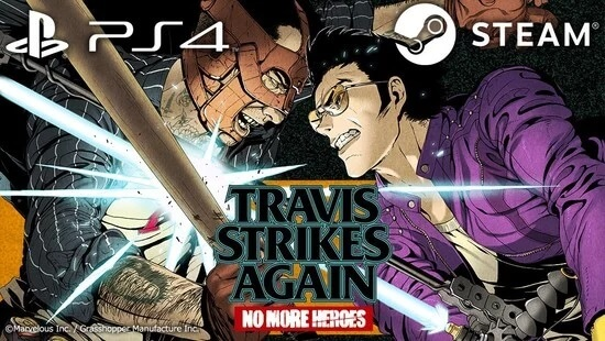 Travis Strikes Again: No More Heroes também na PS4 e PC