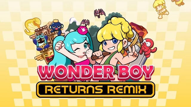 Wonder Boy Returns Remix será Lançado na Switch este Mês