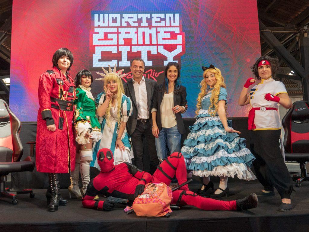 O que há de Asiático pelo WORTEN GAME CITY?