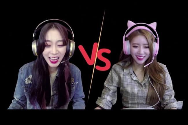 Celebridades Femininas de Kpop conhecidas como Gamers