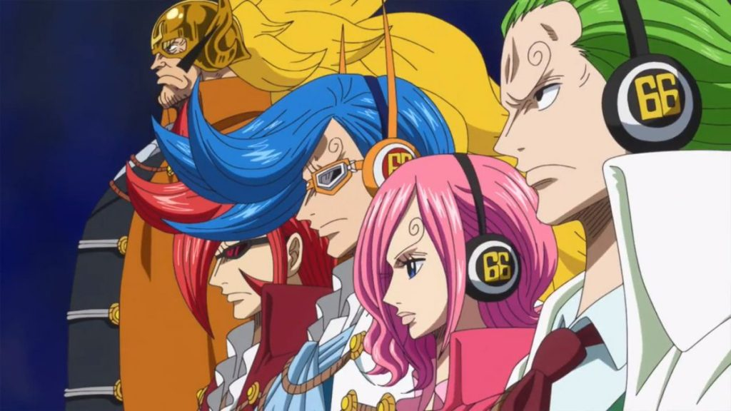 One Piece Totto Land - Germa 66
