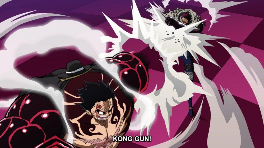 One Piece Totto Land - Luffy vs Katakuri