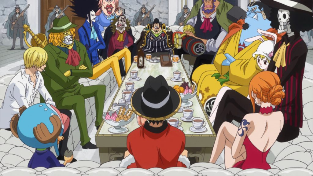 One Piece Totto Land - Straw Hats & Fire Tank