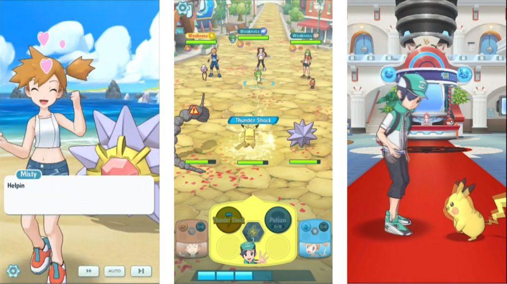 Pokémon Masters - Jogo revela Novas Informações