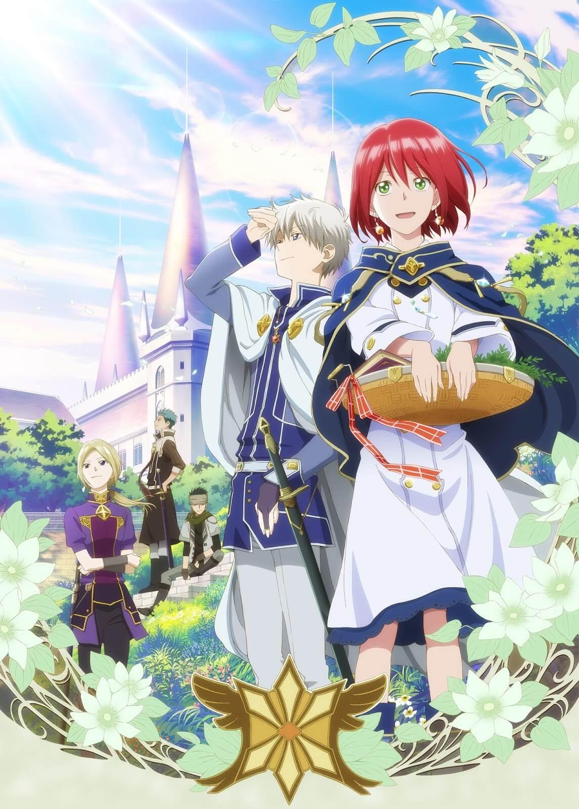 Akagami no Shirayuki-hime Anime Poster