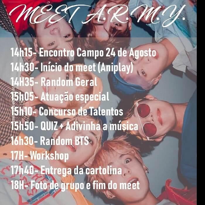 Conhece o maior Meet dos BTS a nível Nacional Porto