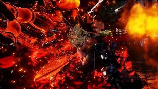 JUMP FORCE revela Primeiros Screenshots de Bakugou