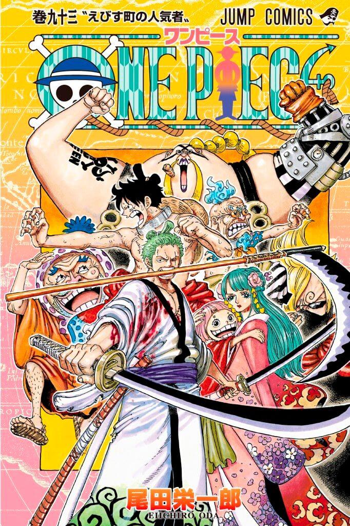 Capa Manga One Piece Volume 93 Luffy Zoro Wano Samurais