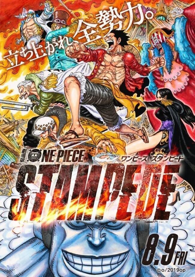 StampedeOne Piece Stampede – Filme vai receber Novel este Ano