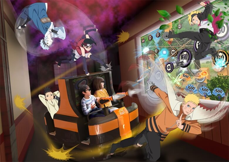 Parque Temático de Naruto será Inaugurado este Ano
