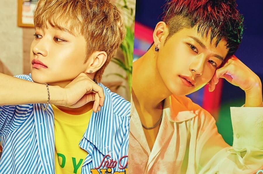 Yeontae e Jiahn dos IN2IT Idols de Kpop que poderão Alistar-se no Exército em 2020
