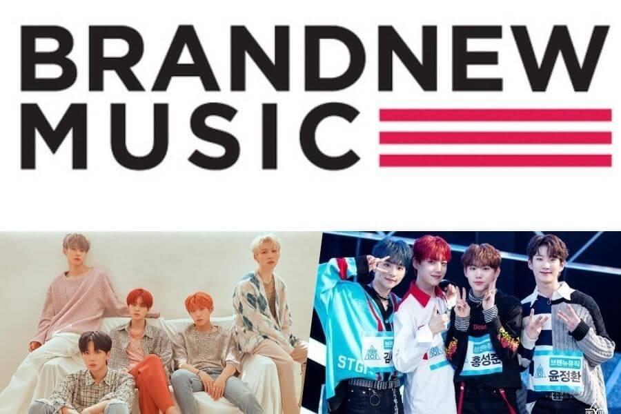 """Brand New Music Trainees do """"Produce X 101"""" anunciam Nome da Unit"""