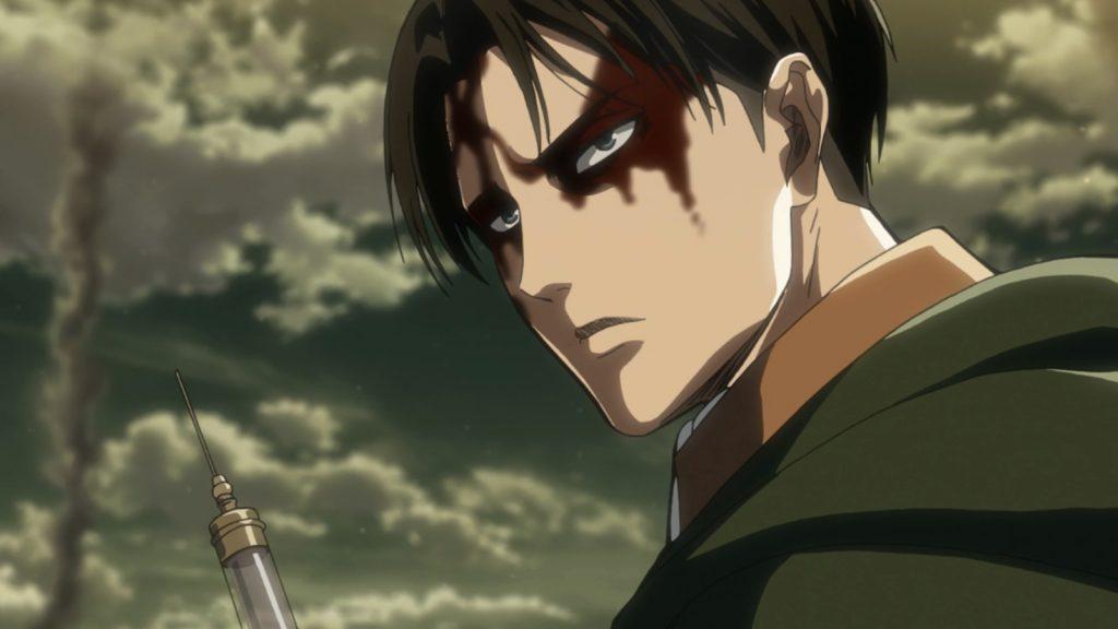 Levi Ackermand salva Armin Arlert - Shingeki no Kyojin