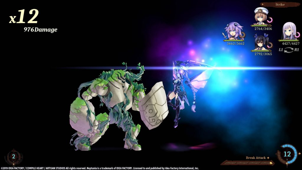 Super Neptunia RPG Captura de ecrã 03