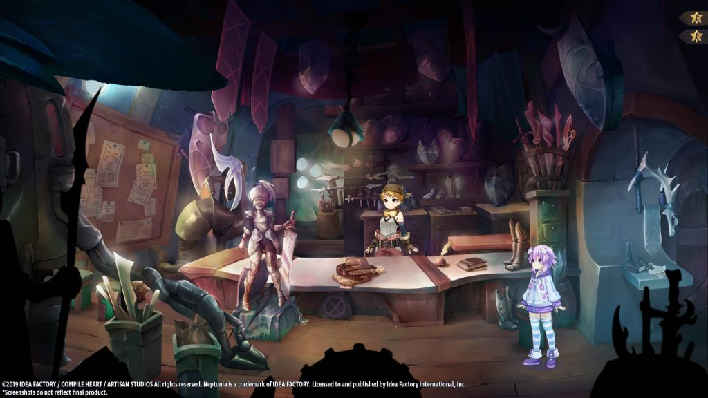 Super neptunia rpg captura de ecrã 04