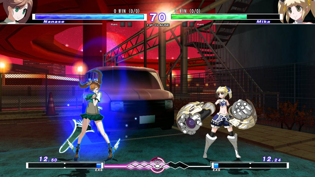 UNDER NIGHT IN-BIRTH Exe:Late[st] - Análise