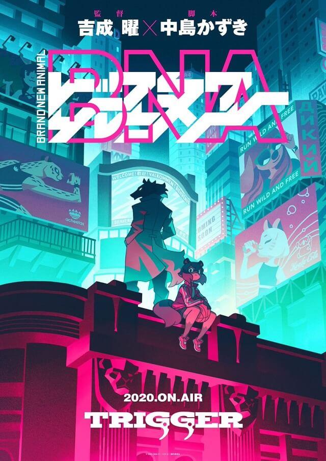 Studio Trigger anuncia Novo Anime Original