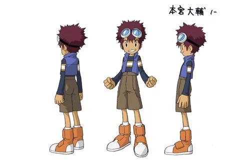 Digimon Adventure Last Evolution Kizuna revela Novo Elenco daisuke motomiya 1