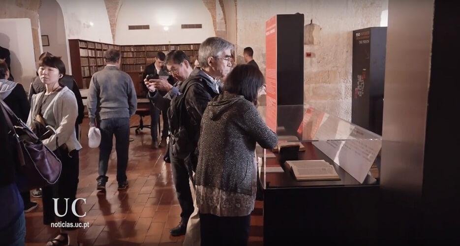 Exposição Luso-Japonesa na Biblioteca Joanina - Coimbra 1