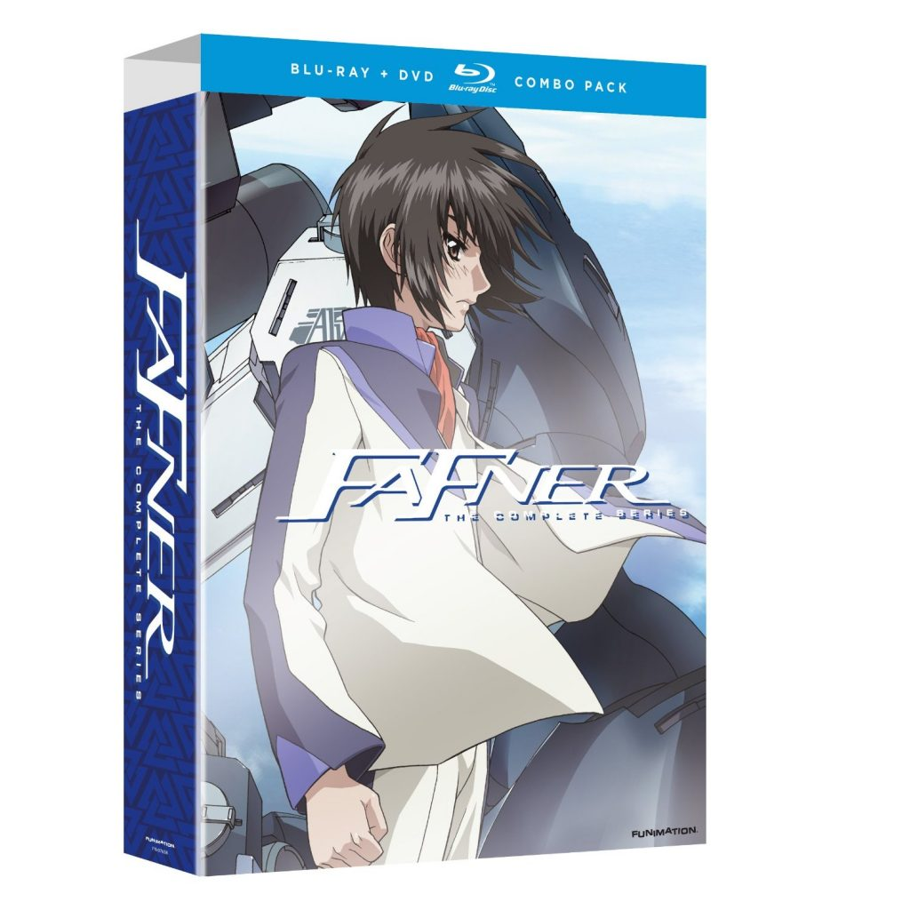 DVDs Blu-rays Anime Setembro 2012 - Fafner The Complete Series