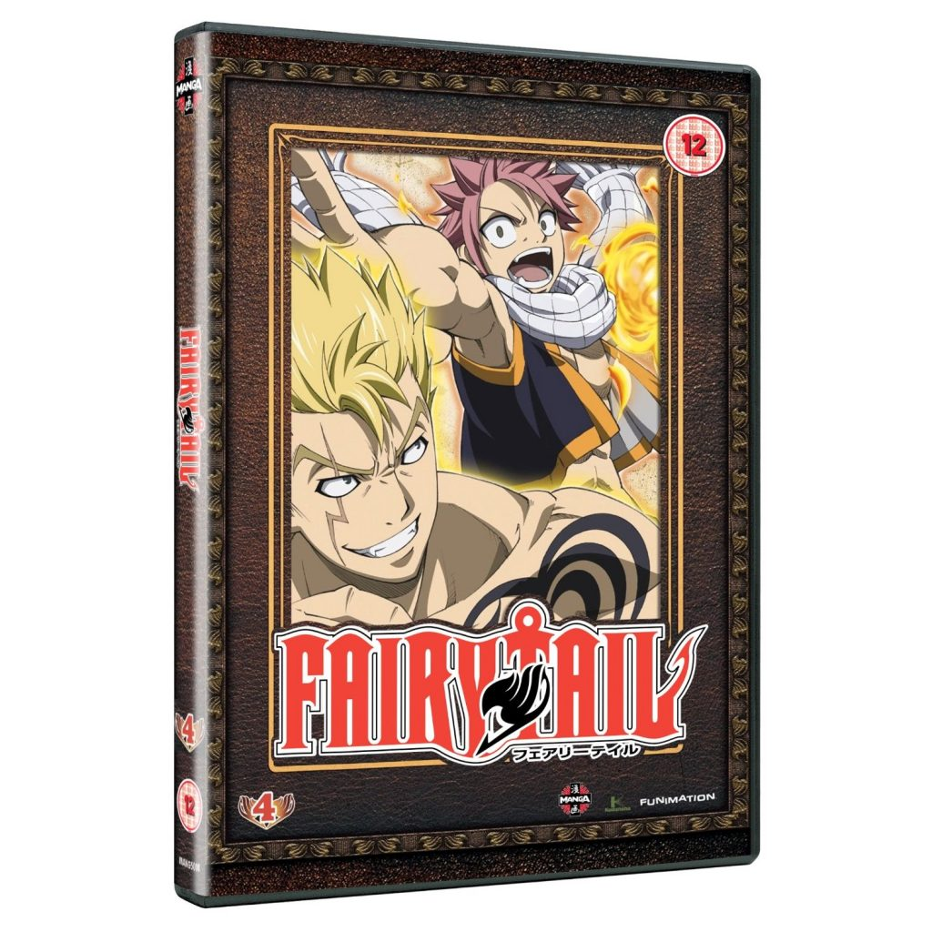 DVDs Blu-rays Anime Setembro 2012 - Fairy Tail Part 4