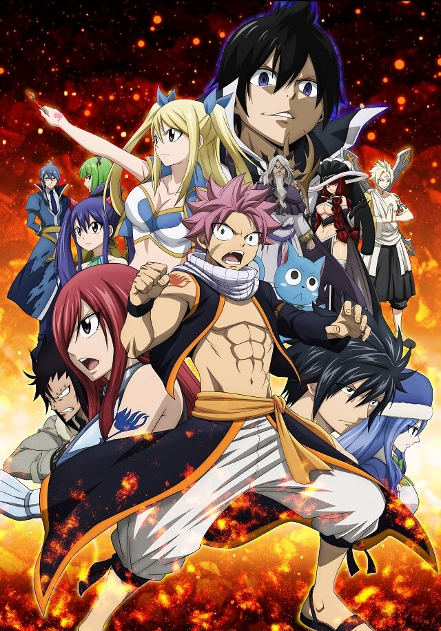 Fairy Tail - Anime TERMINA no Episódio 328