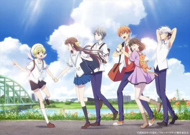 Fruits Basket 2019 revela Novo Vídeo e Poster | Fruits Basket - 2ª Temporada revela Data de Estreia e Poster