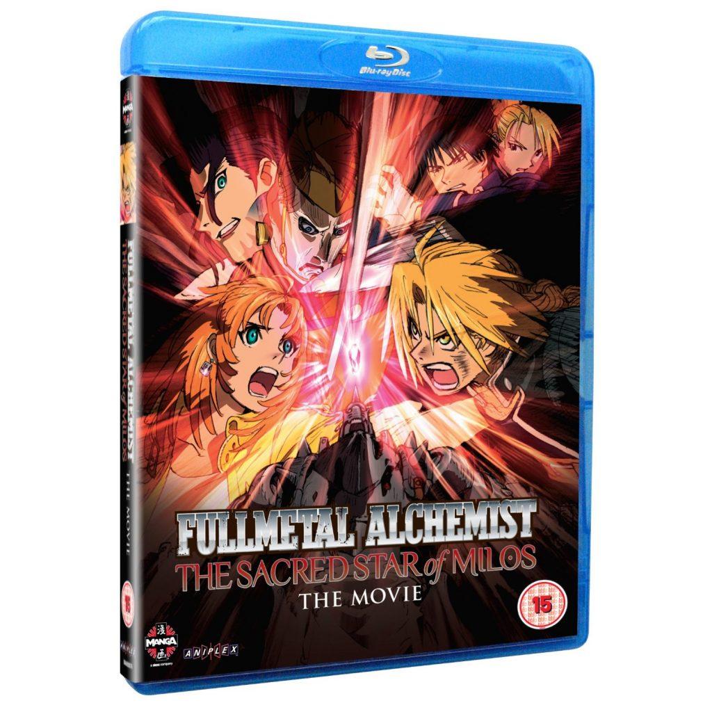 DVDs Blu-rays Anime Setembro 2012 - Fullmetal Alchemist The Movie The Sacred Star of Milos Blu-ray