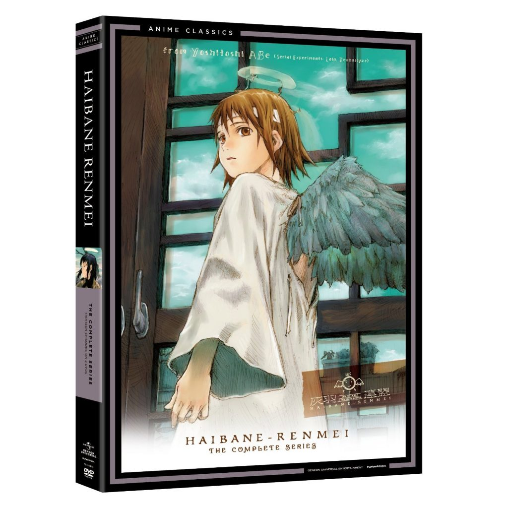 DVDs Blu-rays Anime Setembro 2012 - Haibane Renmei The Complete Series