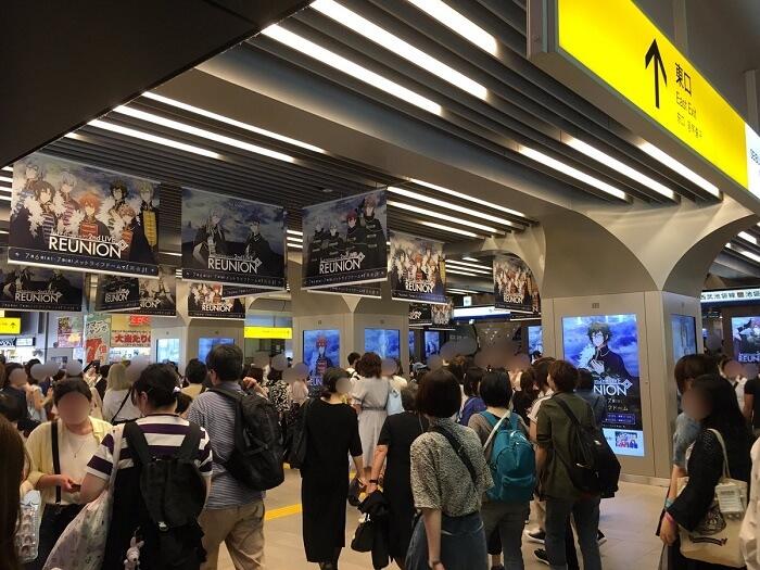 IDOLISH7 - Boy Band Anime atrai Multidões a Tóquio 1