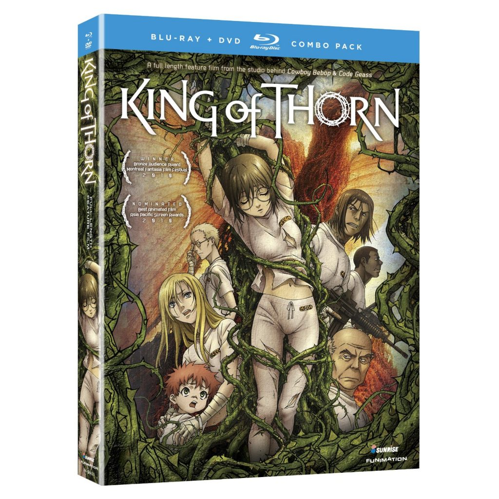 DVDs Blu-rays Anime Setembro 2012 - King of Thorn