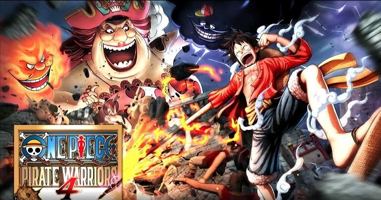 One Piece Pirate Warriors 4 Anunciado