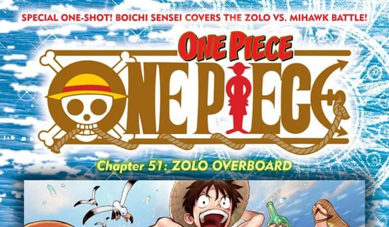 ONE PIECE – SPINOFF DE ZORO É O 1º DO COVER COMIC PROJECT