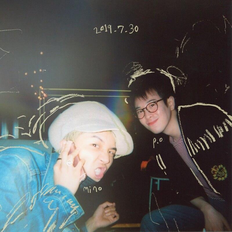 P.O dos Block B lançará Álbum Single com Song Mino poster