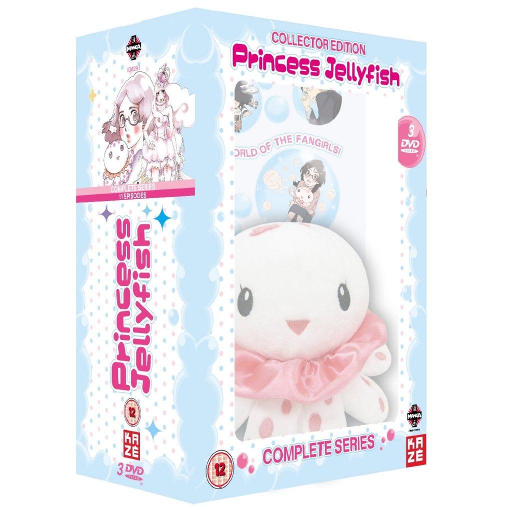 DVDs Blu-rays Anime Setembro 2012 - Princess Jellyfish Collector Edition