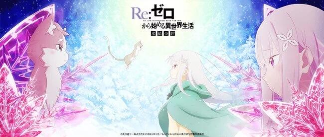 Re:Zero Hyouketsu no Kizuna - OVA revela Segundo Vídeo