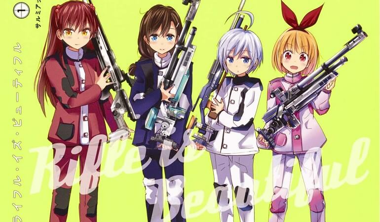 RIFLE IS BEAUTIFUL – ANIME REVELA ESTREIA