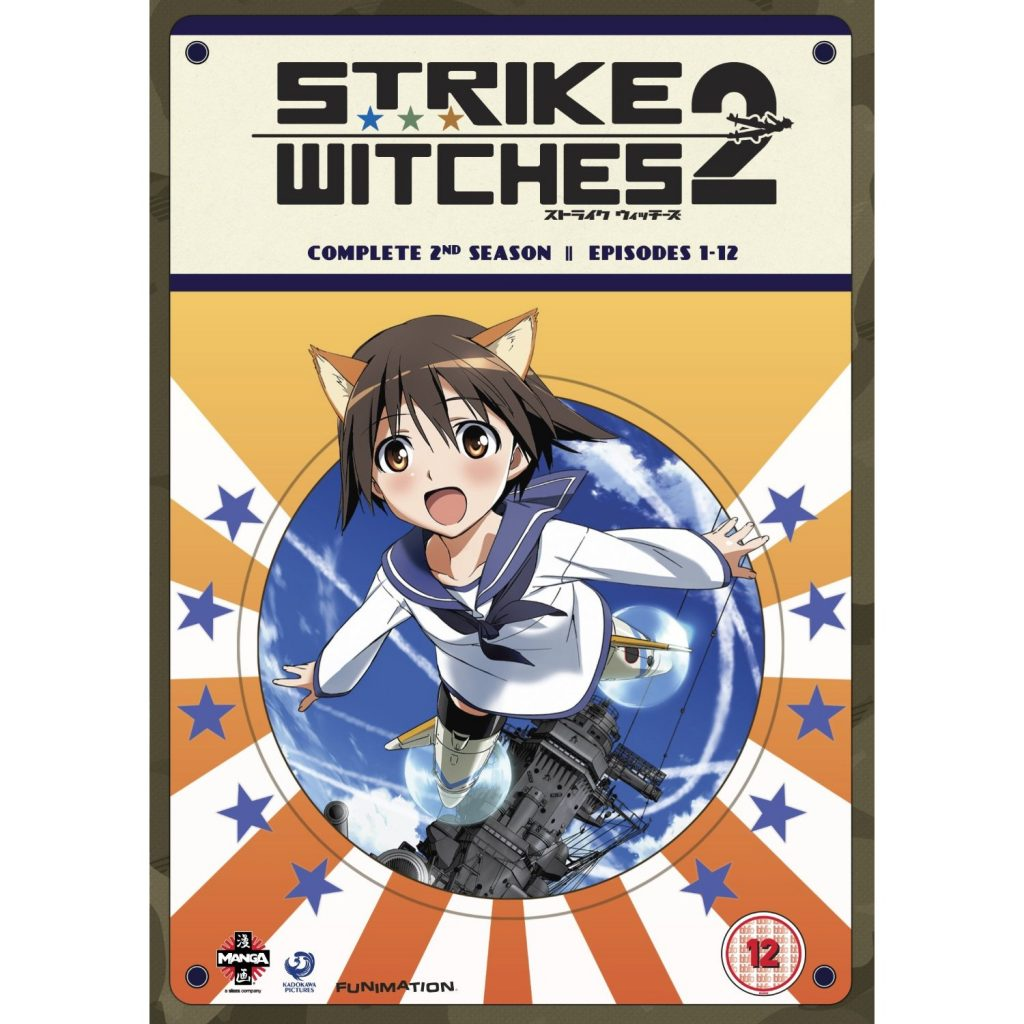 DVDs Blu-rays Anime Setembro 2012 - Strike Witches Complete 2nd Season